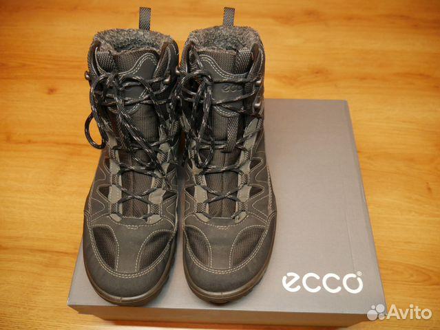 690be77436e3 Мужские зимние ботинки Ecco Xpedition III,высокие купить в Москве на ...