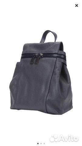 Рюкзак кожаный новый Италия   Festima.Ru - Мониторинг объявлений e09a3c910b3