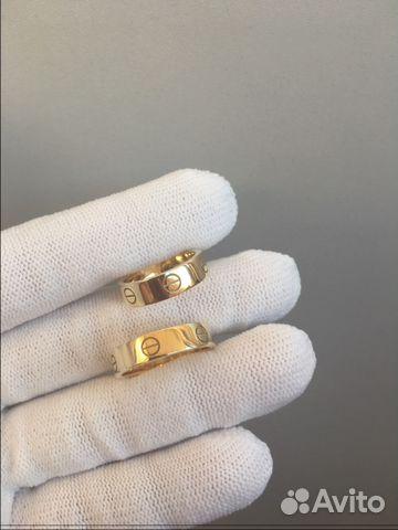 10294e502b44 Новые золотые обручальные кольца Cartier love 750 купить в Москве на ...