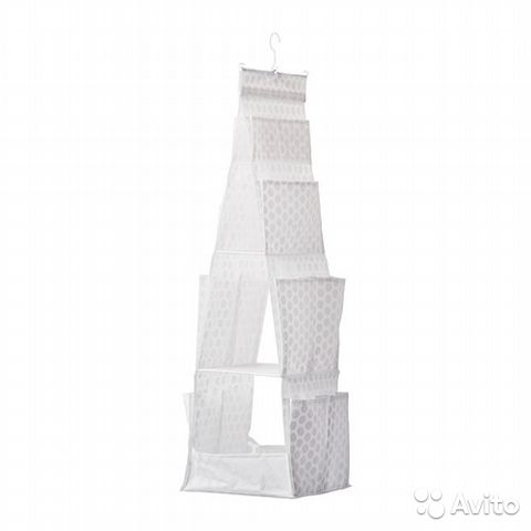 Плуриг Подвесная секция д/хранен/3 ячейки, белый