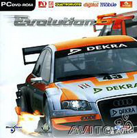 "Компьютерная игра ""Evolution GT"" DVD 2006 лицензия— фотография №1"