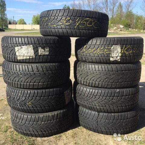 89211101675 215/55 R17 Dunlop SP-WS3D