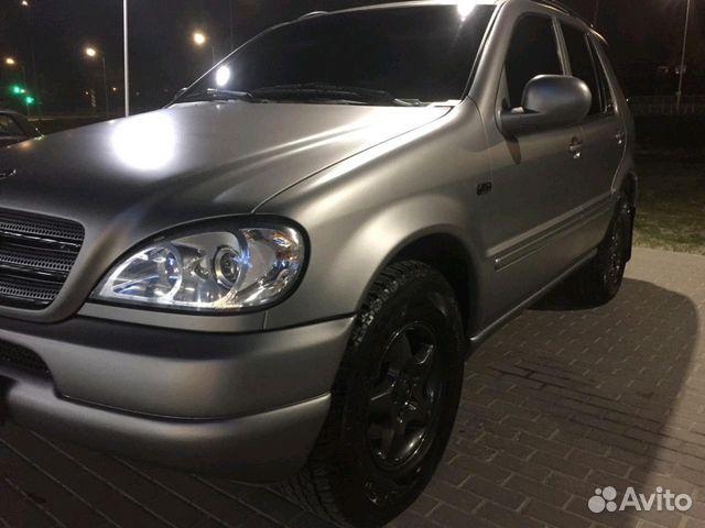 Купить Mercedes-Benz M-класс пробег 127 171.00 км 1999 год выпуска