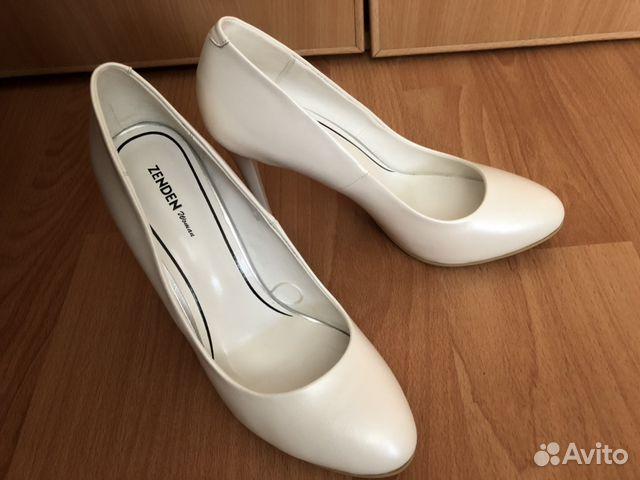 Туфли на свадьбу белые  89873298522 купить 1