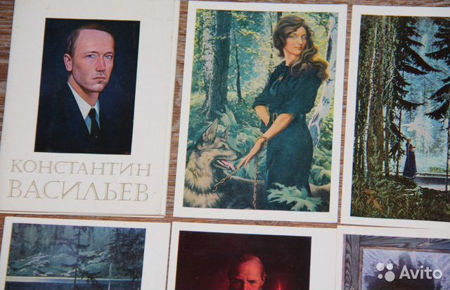 Васильев к.а. наборы открыток, вам друзья открытки