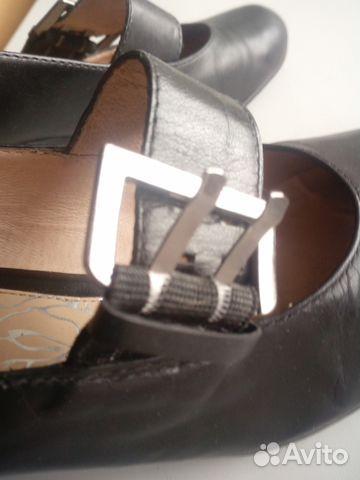 Туфли кожаные с ремешком. Эконика.Ria Rosa.36р-р 89117015256 купить 7