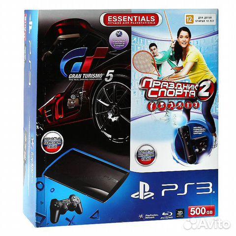 Playstation 3 SuperSlim (HEN 2 2 1) купить в Челябинской области на