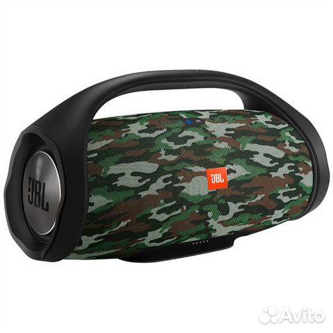 Новая Беспроводная акустика JBL Boombox хаки черна 89874729154 купить 2