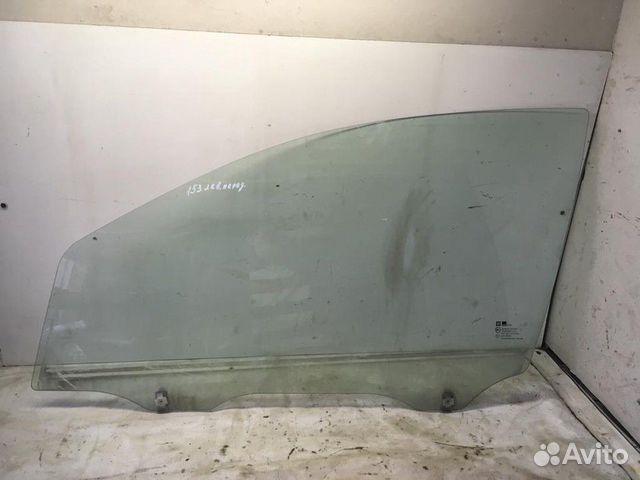 89657347629  Стекло двери переднее левое (Chevrolet Aveo)