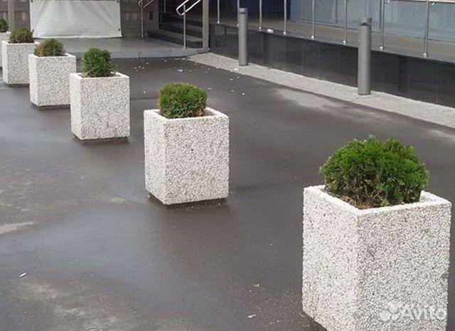 Кашпо из архитектурного бетона купить делаем бетон