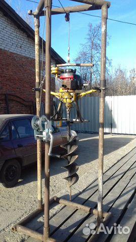 Буровая установка на базе мотобур м10  89506118633 купить 3