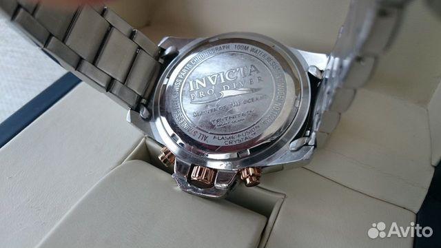 Мужские Invicta Pro Diver Chronograph 11286 обмен 89525003388 купить 7