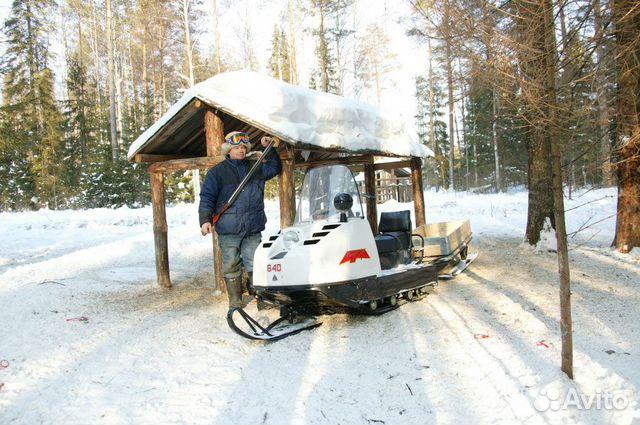 Новый снегоход Буран А купить 4