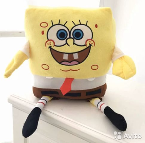 Stuffed toy spongebob