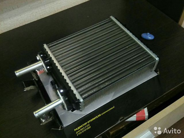 Радиатор отопителя ваз 2105