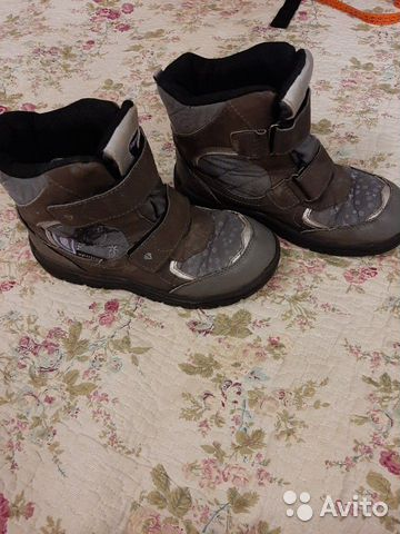 Зимние ботинки для девочки 89272870058 купить 2