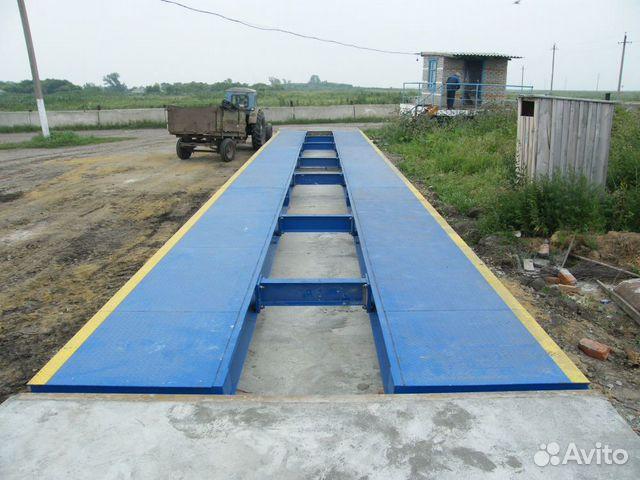 Автомобильные весы 18 метров 80 тонн 89063588900 купить 1