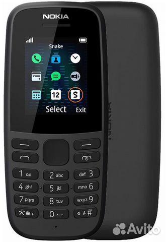 Nokia 105 Black (без сзу) 89604040021 купить 1