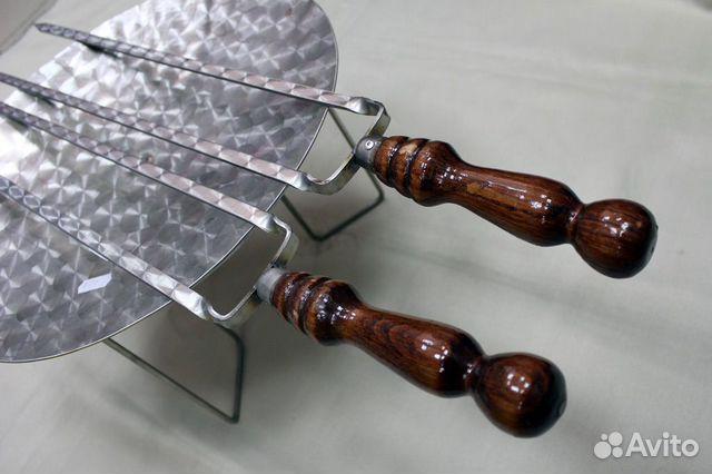 Двойные шампура 12х3мм от 40см