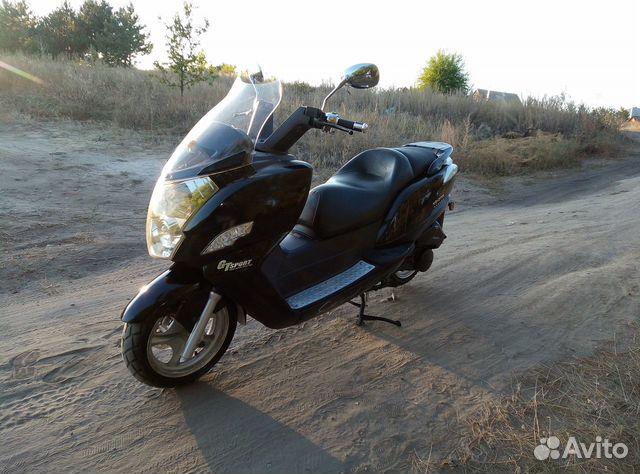 Макси скутер Yiben Vanguard 150  89885612079 купить 4