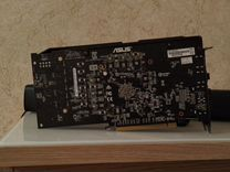 Видеокарта asus RX580 8GB