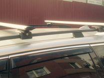 Багажник на рейлинги (с замком) — Запчасти и аксессуары в Перми