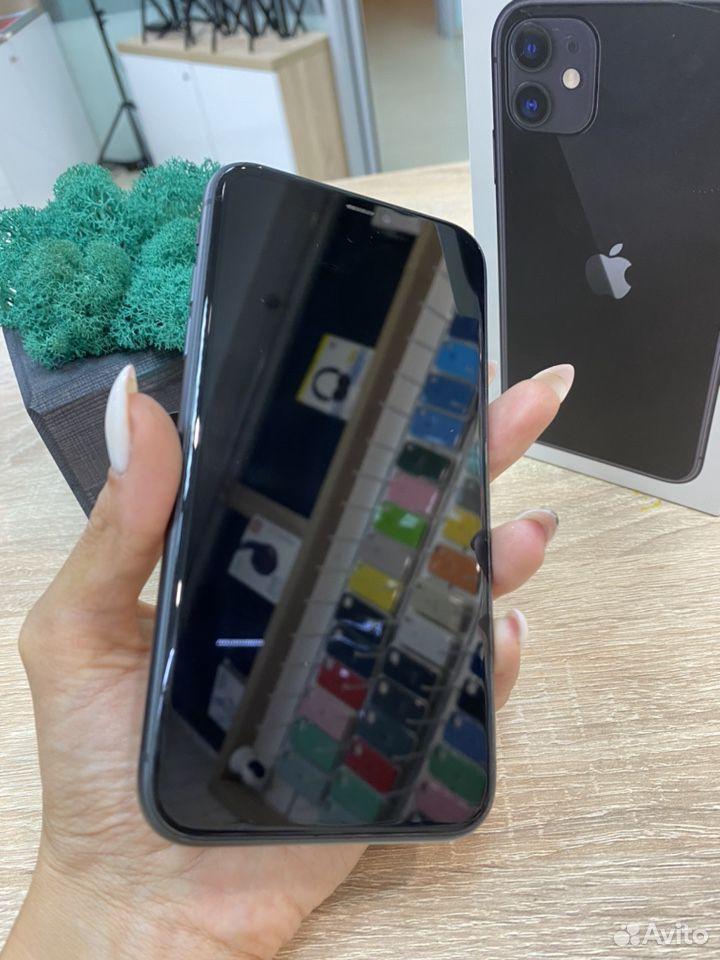 iPhone 11 Black 128 gb на официальной гарвнтии  89527999199 купить 2
