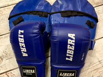 Перчатки боксерские + лапы для бокса