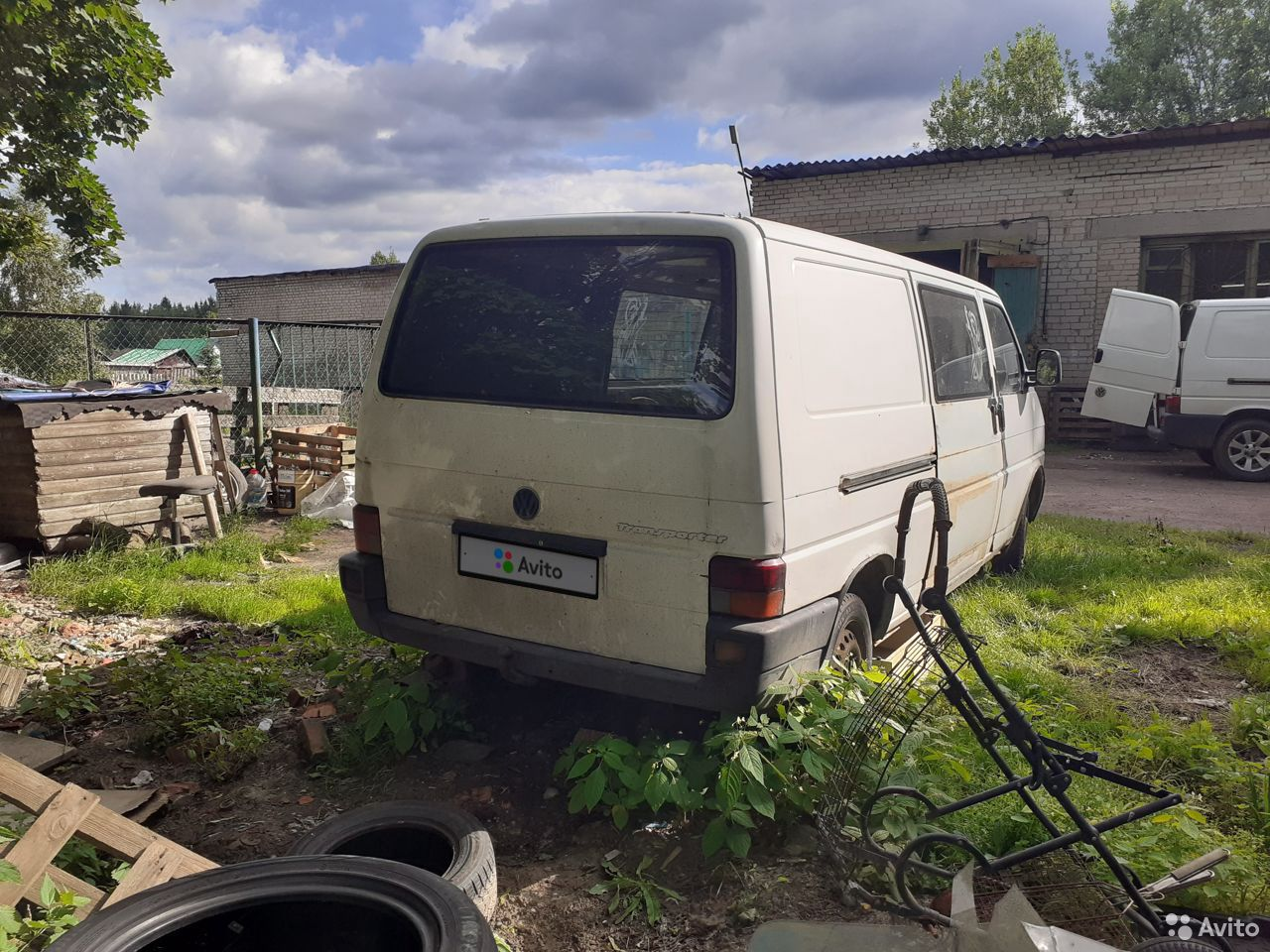 Volkswagen Transporter, 1992  89584198792 купить 1