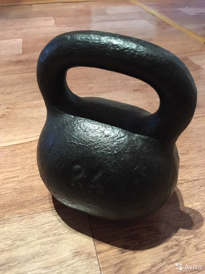 Гиря 24 кг