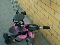 Детский трехколесный велосипед Jetem Chopper розов
