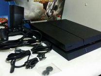 PS4 Fat Black+5игрушек+гарантия