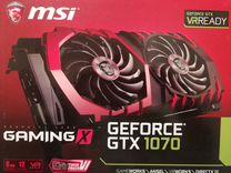 MSI GeForce GTX 1070 gaming X 8G — Товары для компьютера в Тюмени
