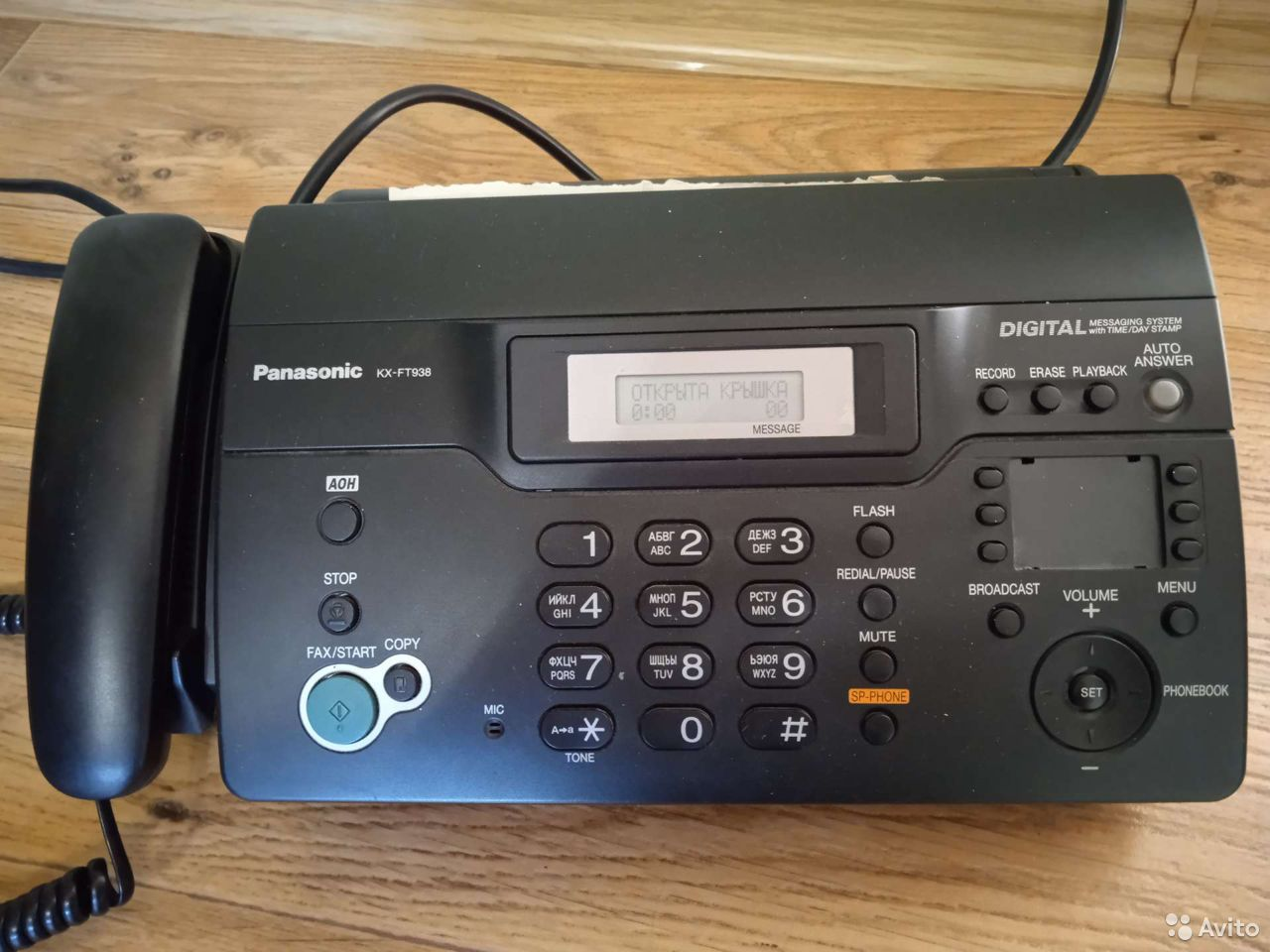 Продам Факс kx-ft938  89023541100 купить 1