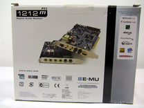 Creative Professional E-MU EMU1212m звуковая карта