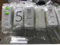 Чехол для iPhone 5/5S/SE прозрачный