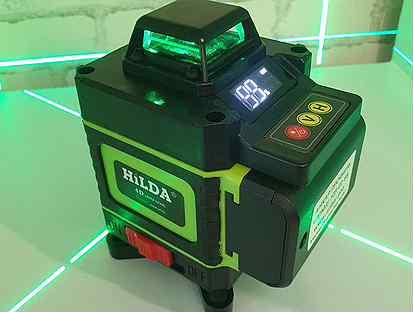 Профессиональный 4D/16 линий лазерный уровень ниве