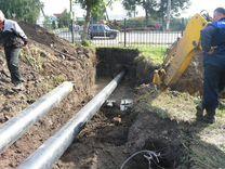 Водопровод методом прокола в ваш дом