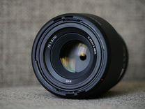 Продам фотообъектив sony FE50 мм F1.8