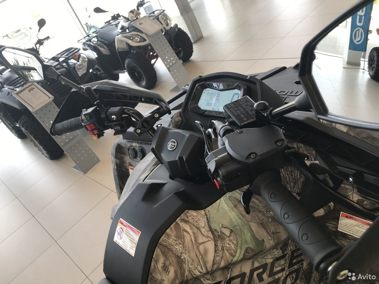 Квадроцикл cfmoto cforce 800 HO EPS (X8 H.O.EPS)  88792225000 купить 9