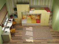 Группа мебели для детской комнаты