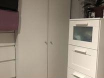 Продам шкаф от Икея белый размер 180*80 — Мебель и интерьер в Челябинске