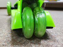 Самокат Scooter maxi 21 зеленый