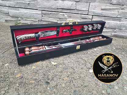Подарочный шашлычный набор для пикника