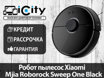 Робот пылесос Xiaomi Mjia Roborock Sweep One Black