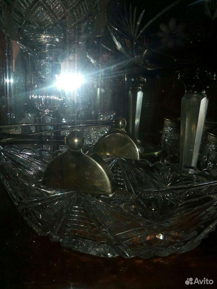 Хрусталь,мельхиор.серебро  89182030501 купить 2