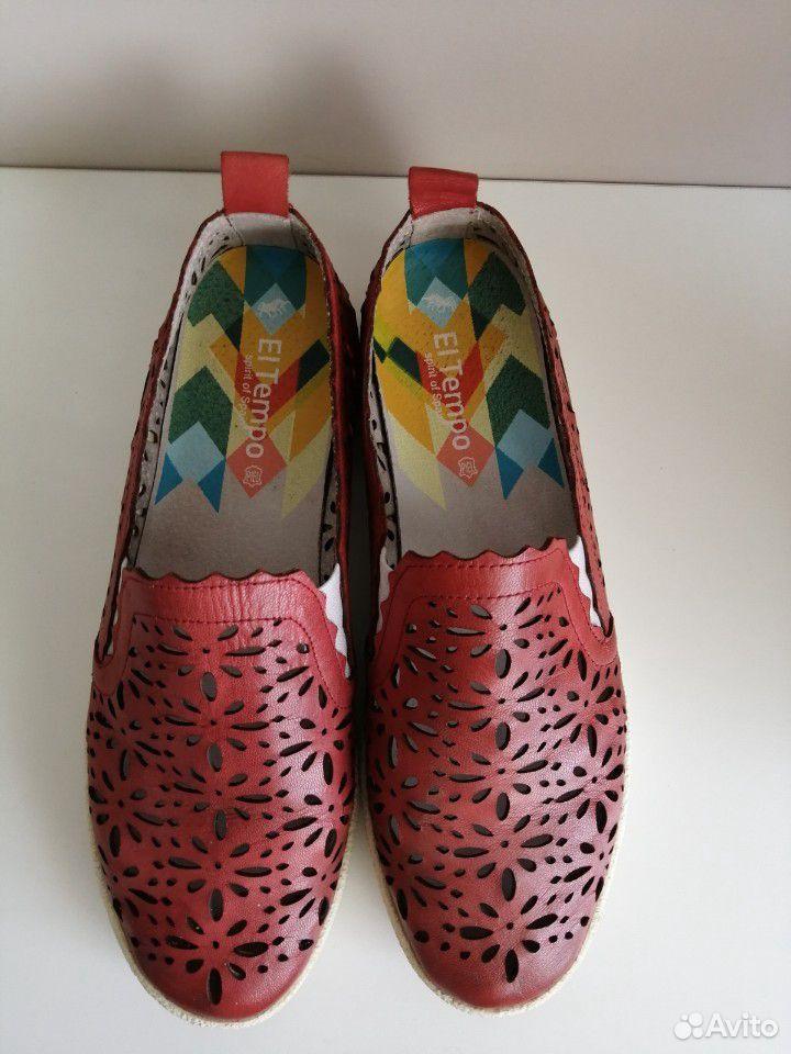 Слипоны, ботинки(кожа) 40 размер  89521154811 купить 1