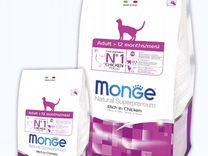 Monge корм для кошек