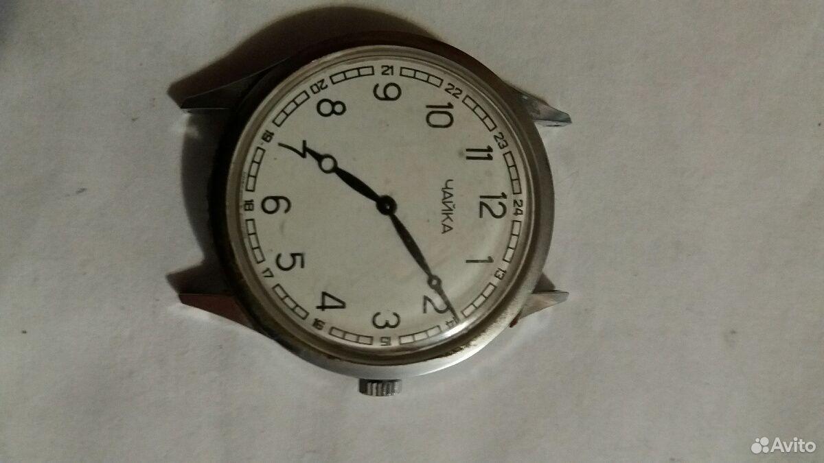 Часы механика Чайка Заря СССР  89625434025 купить 2