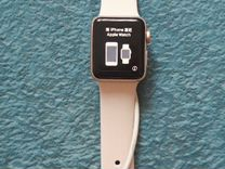 Apple Watch gold куплены в МТС